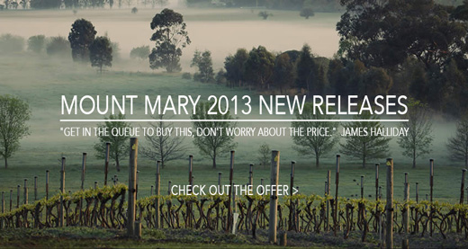 Mount Mary 2013 New Release Offer